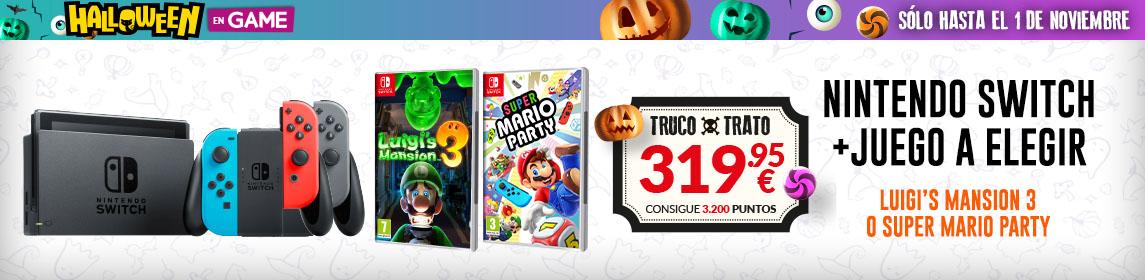¡Halloween en GAME! Pack Switch + Juego