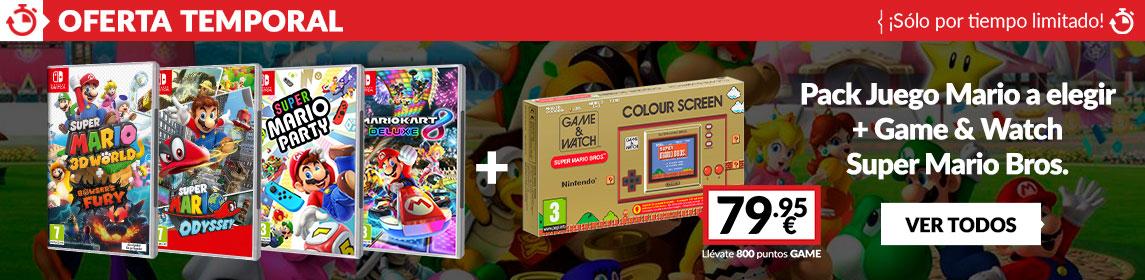¡Oferta! Game & Watch + juego Switch