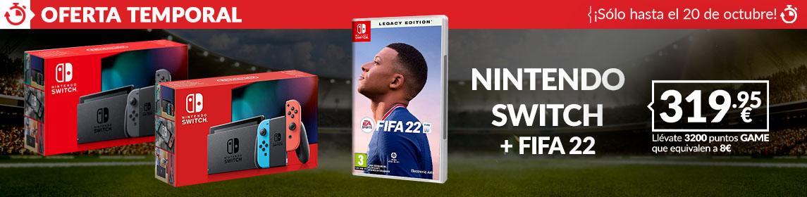 ¡Oferta! Nintendo Switch + FIFA 22
