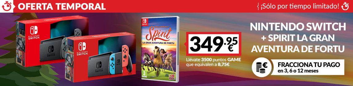 ¡Oferta! Switch + Spirit