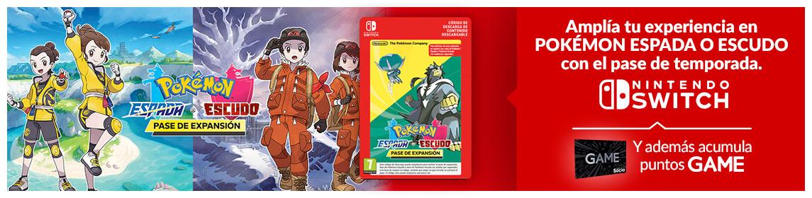Expansion Pass Pokémon Espada o Escudo