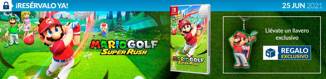 ¡Novedad! Mario Golf Super Rush