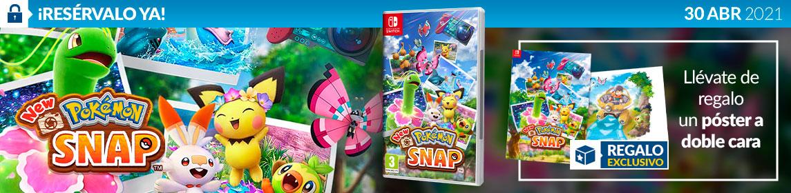 ¡Reserva! New Pokémon Snap + póster