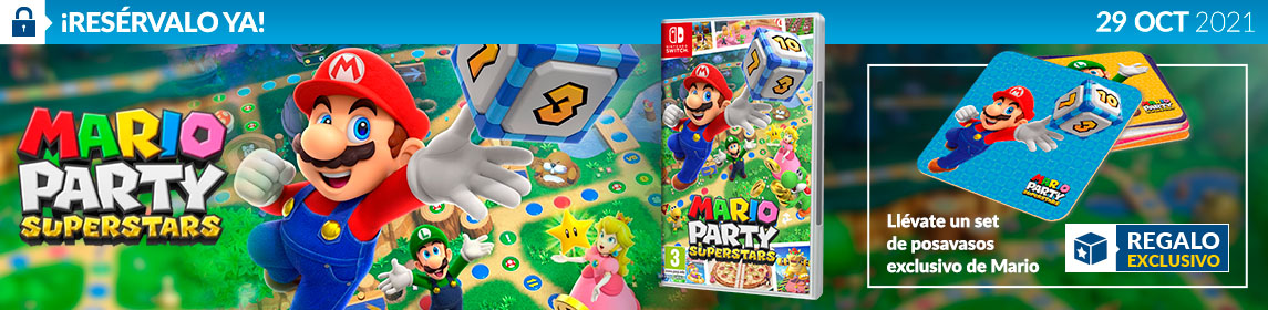 ¡Reserva! Mario Party Superstars