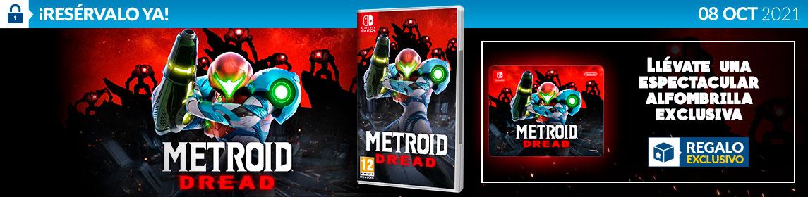 ¡Reserva! Metroid Dread + Alfombrilla