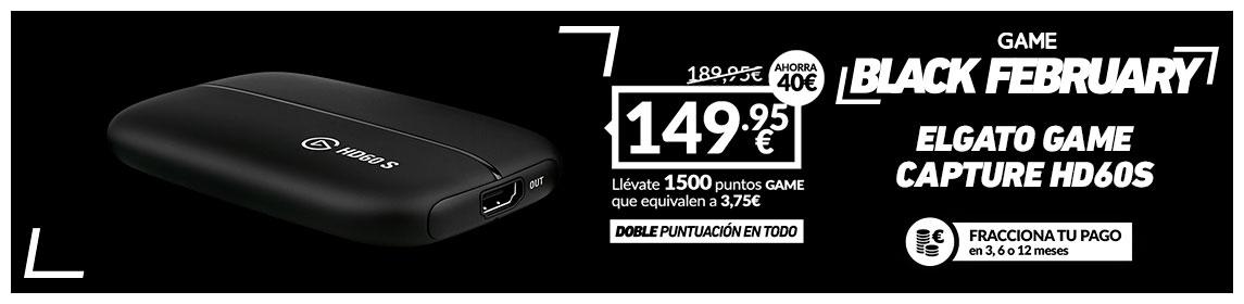 ¡Black February! Elgato Game Capture HD60S