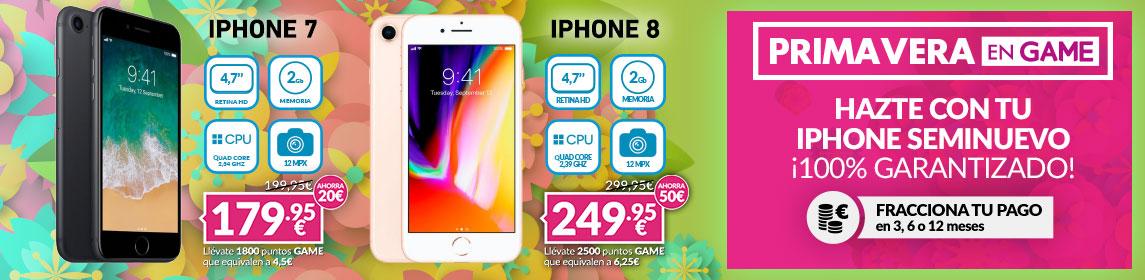 ¡Primavera GAME! Oferta iPhone