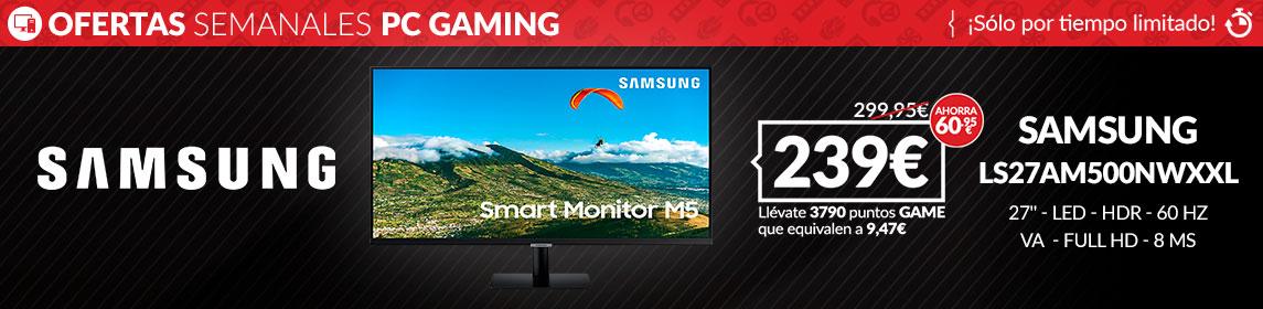 ¡Oferta! Monitor Samsung LS27AM500NWXXL