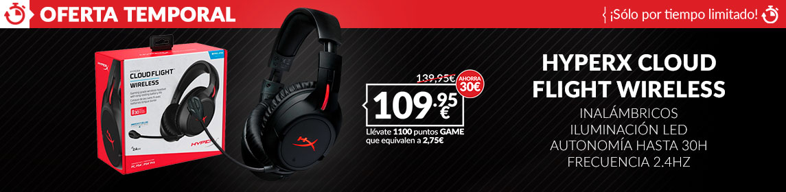 ¡Oferta! HyperX Cloud Flight