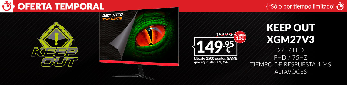 ¡Oferta! Monitor Keep Out