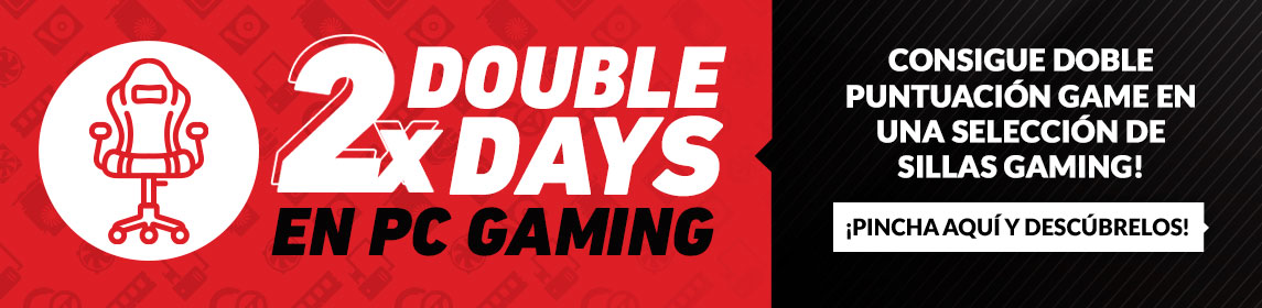 ¡Double Days! Sillas Gaming