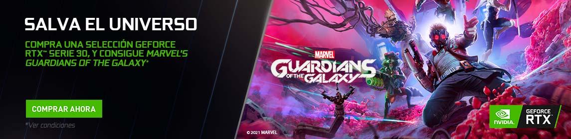 Nvidia + Marvel´s Guardians