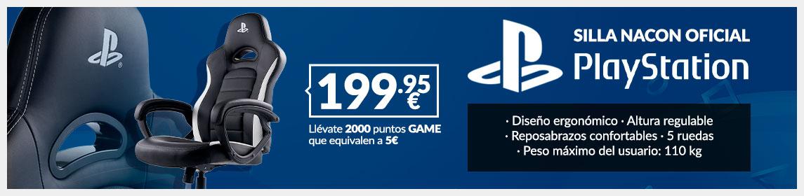 Silla Nacon PlayStation