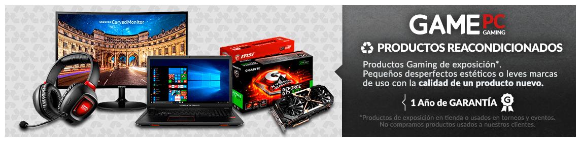 Recondicionados PC Gaming 100% garantizados