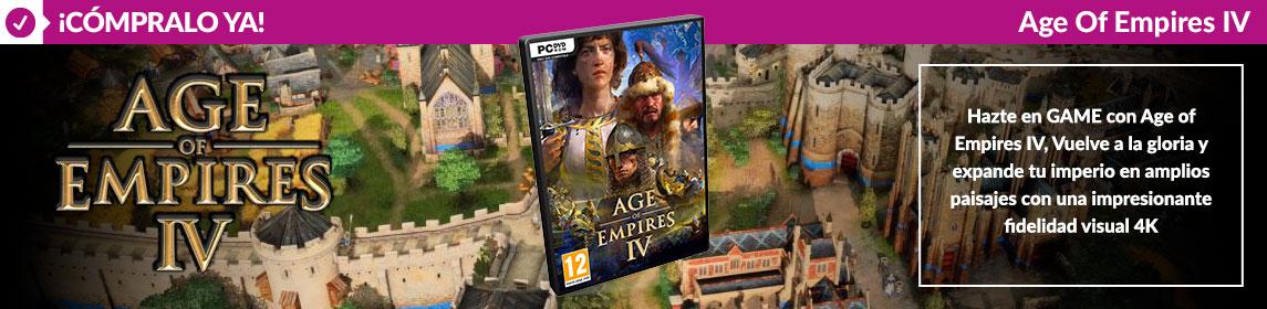 ¡Novedad! Age of Empires IV
