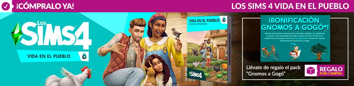 ¡Novedad! Los Sims Vida en el Pueblo