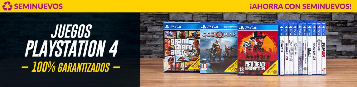 Juegos PS4 Top ventas