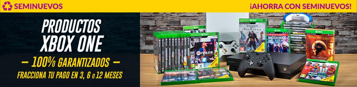Xbox One ¡Ahorra con Seminuevos!