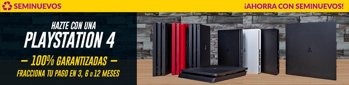 Consolas PS4 Seminuevo