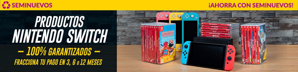 Nintendo Switch ¡Ahorra con Seminuevo!