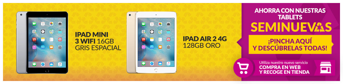 Tablets iPads Seminuevos