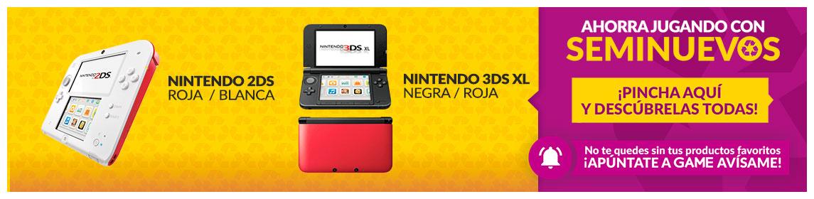 Consola 3DS - 2DS Seminuevas