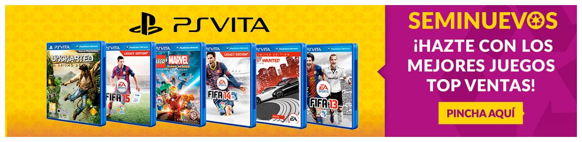 Juegos TOP Ventas PS Vita