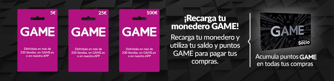 Tarjeta monedero GAME