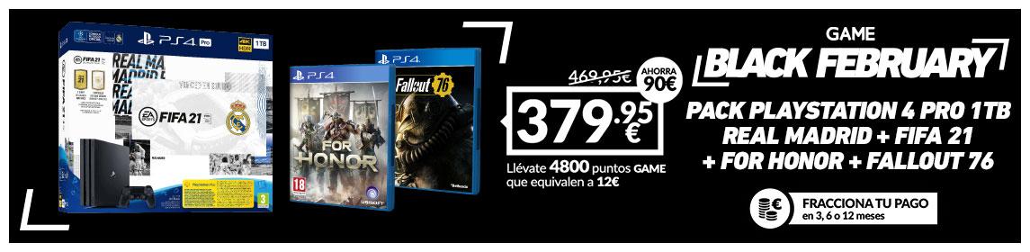 ¡BF! Consola PS4 Pro + Juegos