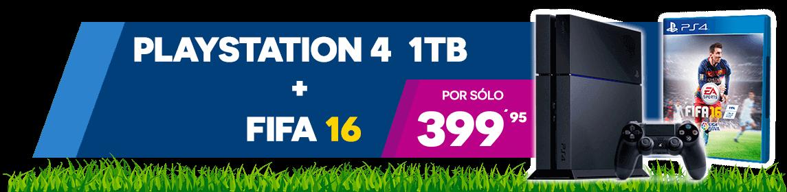 PS4 + FIFA 16