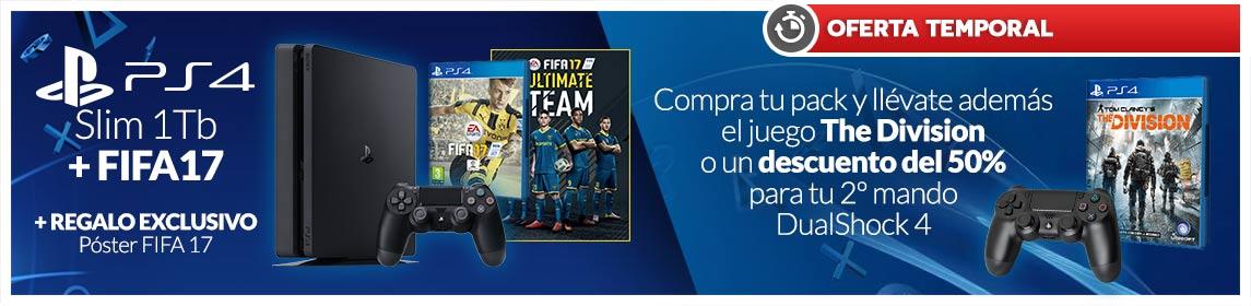 Packs PS4 + FIFA 17