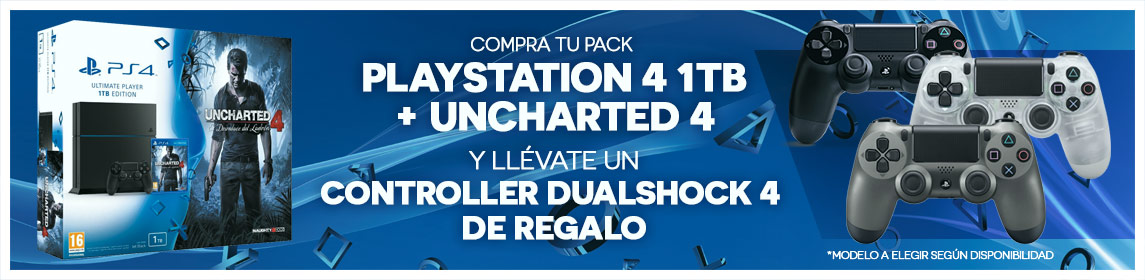 Pack PS4 + Uncharted 4