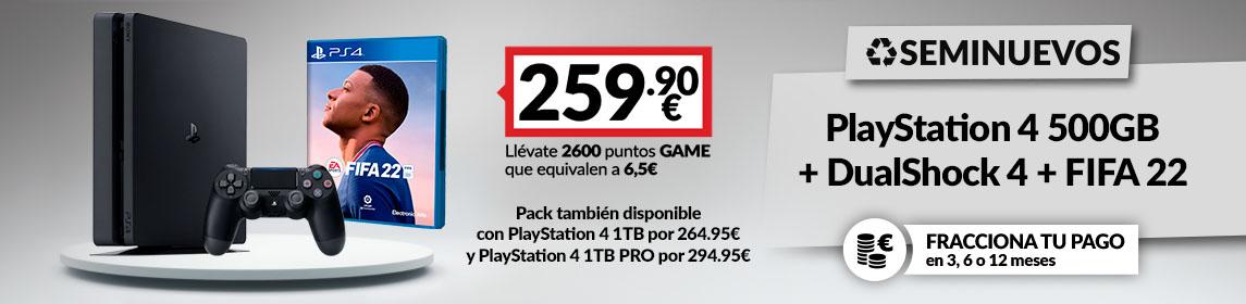 Consola PS4 + FIFA 22