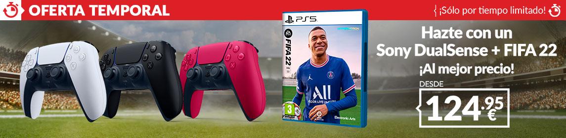 ¡Oferta! Dualsense + FIFA 22
