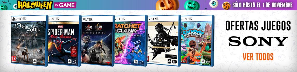 ¡Halloween en GAME! Ofertas Juegos PS5