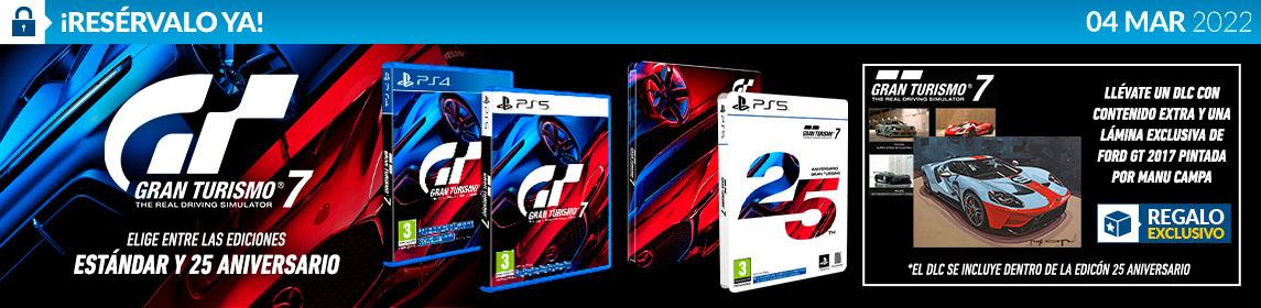 ¡Reserva! Gran Turismo 7 + DLC
