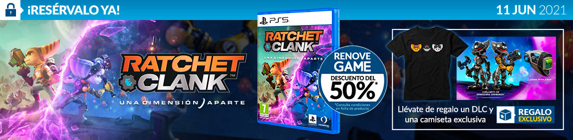 ¡Reserva! Ratchet & Clank + DLC