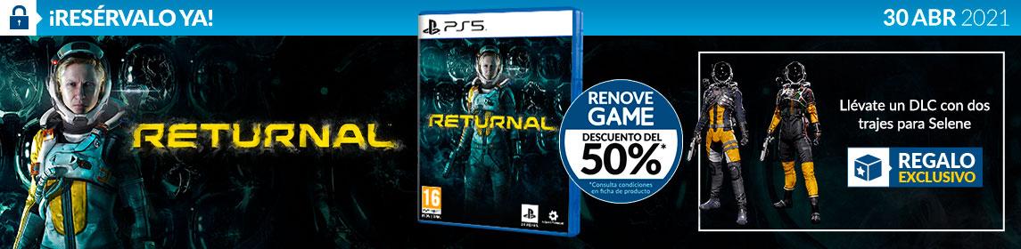 ¡Reserva! Returnal + DLC