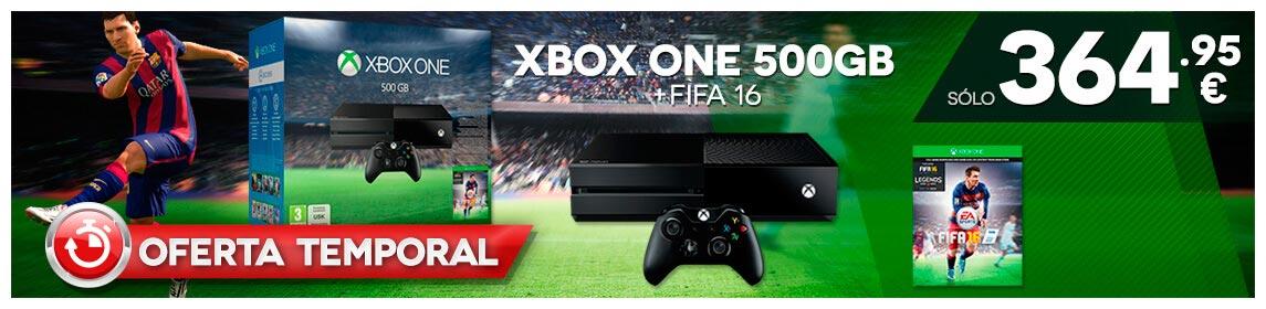 XONE 500Gb + FIFA 16