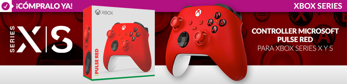 Controller Pulse Red Xbox
