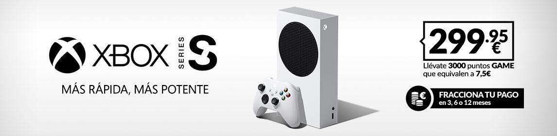 Xbox Series S por 299,95€