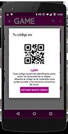 App GAME Tarjeta socio