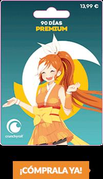 Comprar Crunchyroll 90 días 13.99€ en GAME