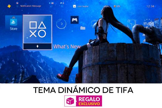 TEMA DINáMICO PARA PS4