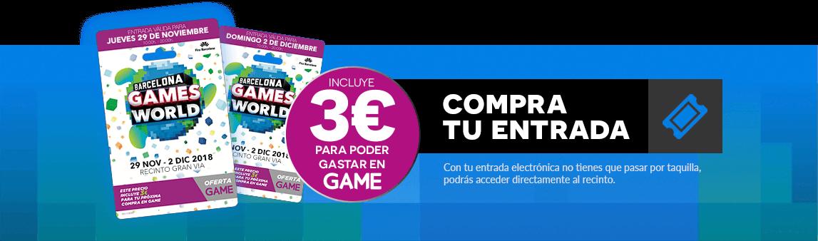 Compra tu entrada para BGW en GAME.es