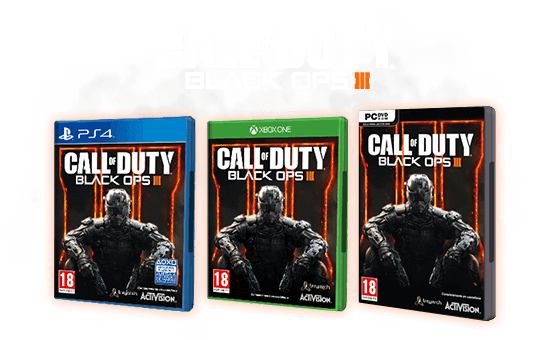 CALL OF DUTY: BLACK OPS III - PS4, XONE y PC
