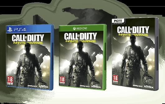 Compra Call Of Duty Infinite Warfare en GAME