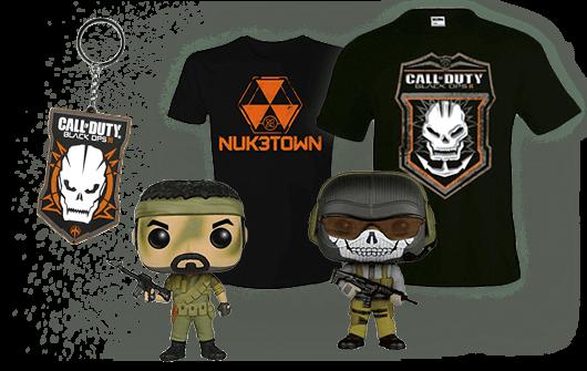 Merchandising Call Of Duty en GAME