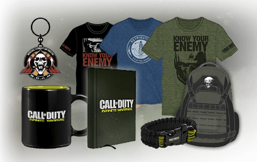 MERCHANDISING CALL OF DUTY INFINITE WARFARE en GAME