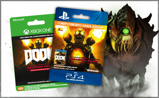 DOOM SEASON PASS en GAME